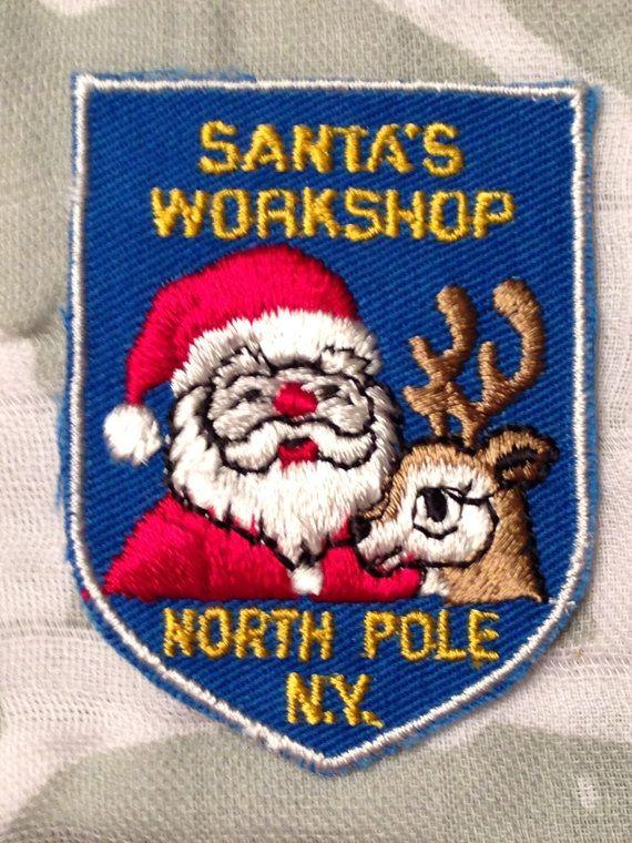 Santa's Workshop North Pole New York Travel by HeydayRetroMart, $7.50