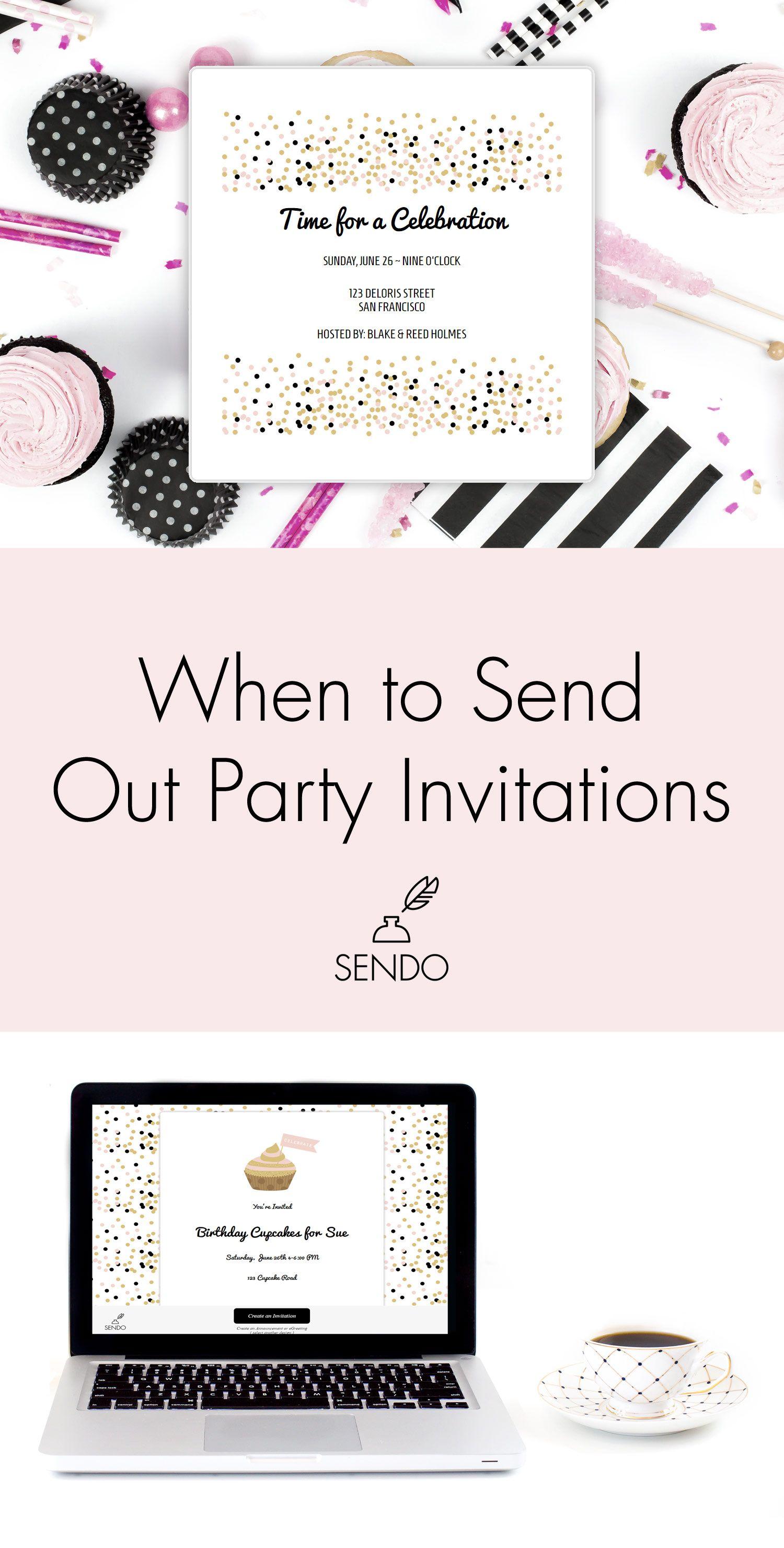 When To Send Party Invitations – Send Party Invitations