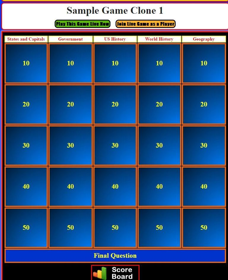 review and teach with these 9 free jeopardy templates | activities, Powerpoint templates