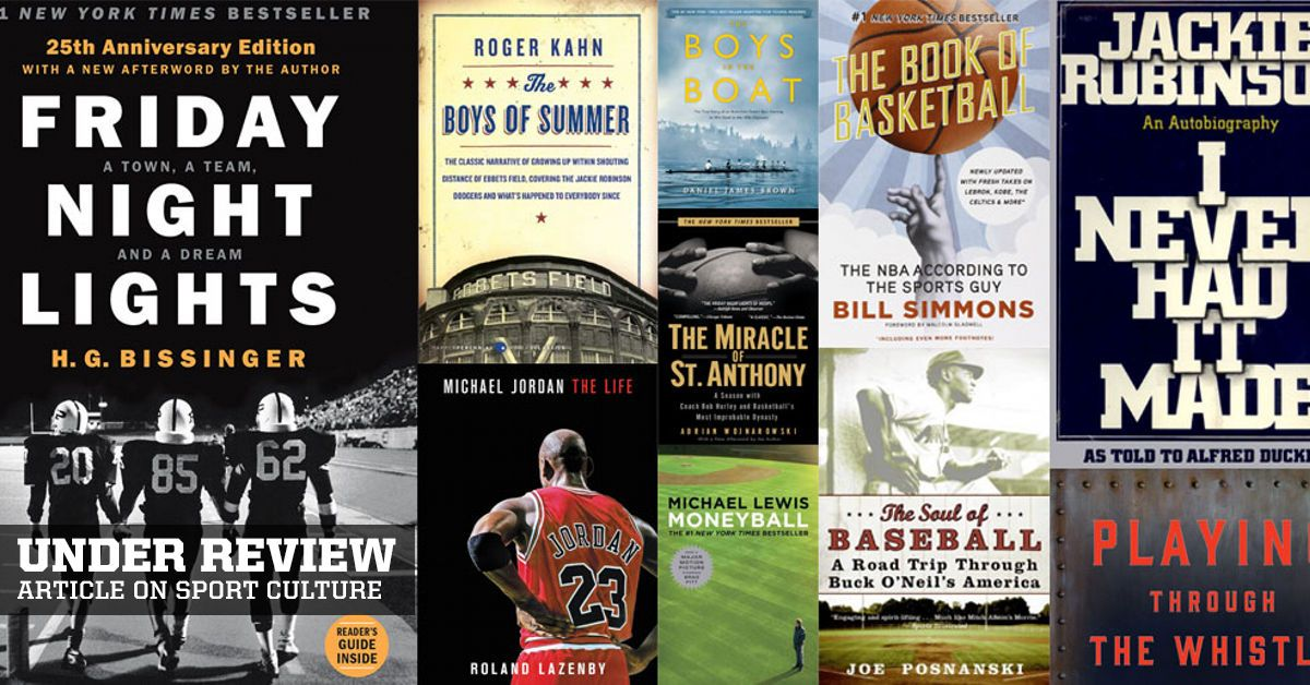 The best sports books teach us about life Sports books