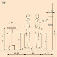 Risultati immagini per misure bancone bar dwg arredo bar bar counter bar e bar counter design - Sala da pranzo dwg ...