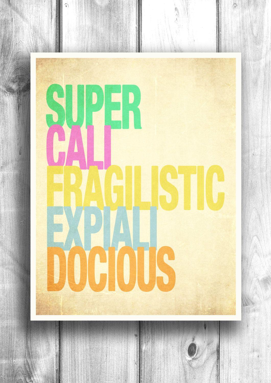 Motivational print typographic illustration movie quote wall decor ...