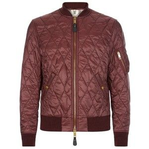 Burberry Grandy Quilted Bomber Jacket Quilted Jacket Men Quilted Bomber Quilted Bomber Jacket