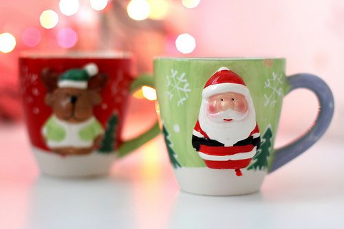 cute christmas cups Christmas Pinterest Christmas cup and Santa
