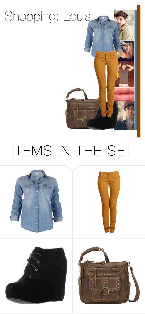 """""""Shopping with Louis"""" by dressingupwith1d ❤ liked on Polyvore featuring art, louis, louis tomlinson and one direction"""
