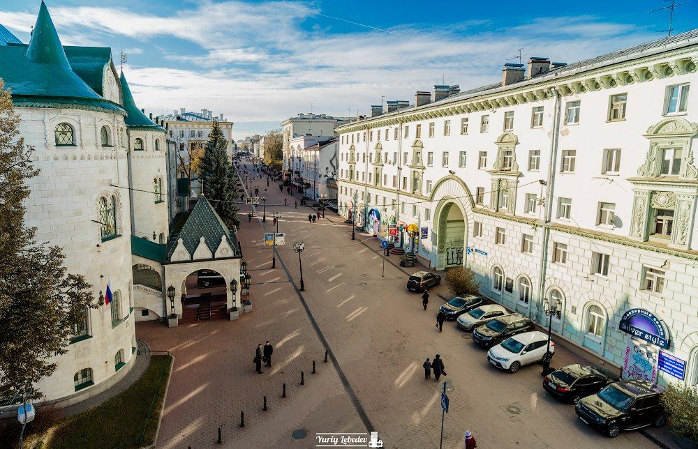 Bolshaya Pokrovskaya street.  Nizhni Nóvgorod