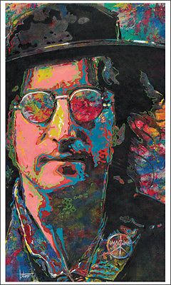 JOHN LENNON 26 700 Imagine Beatles Art Print Of Original Oil Painting