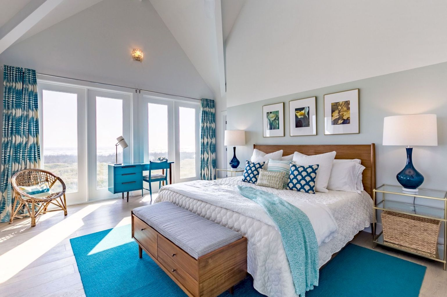 Awesome Above The Bed Beach Themed Decor Ideas Beach Themed Bedroom Beachy Bedroom Beach Bedroom