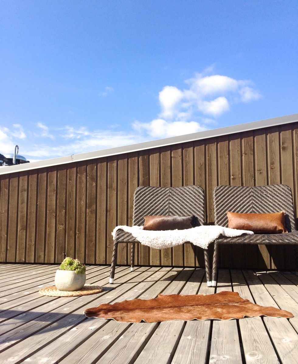 On the roof, my terrace / A&A at HoMe - Blogi | Lily.fi