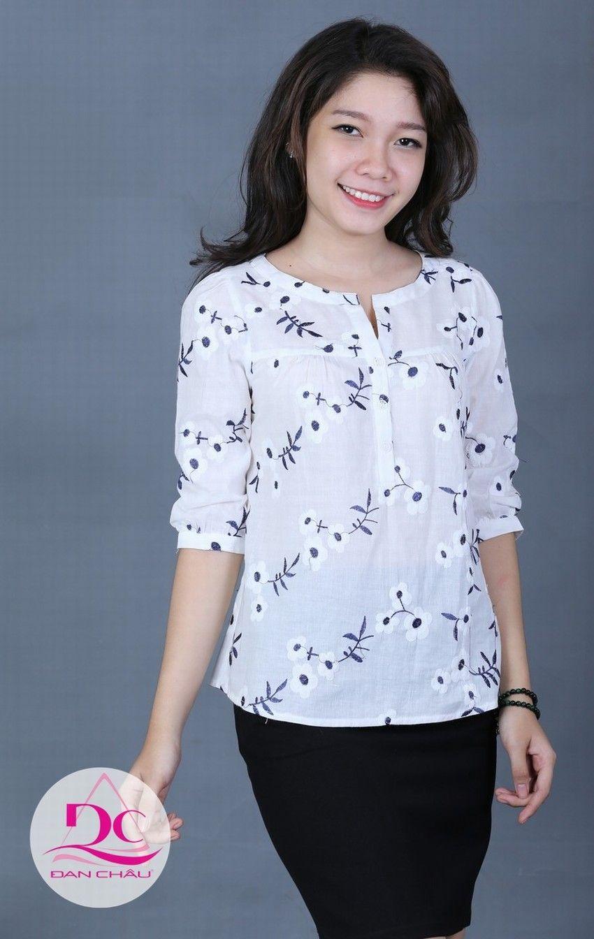 32540b5c10e2 Áo kiểu 1718   THỜI TRANG CÔNG SỞ ĐAN CHÂU   top-tunic-tshirt-blouse ...