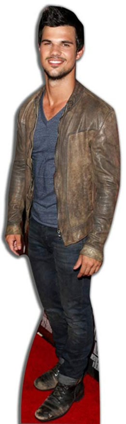 Taylor Lautner Lifesize Cardboard Cutout Standee Standup With Images Cardboard Cutout Hollywood Party Taylor Lautner