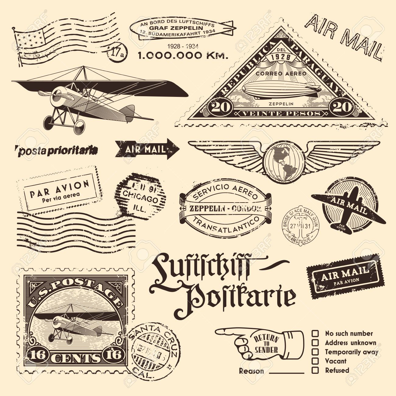 Image Result For Vintage Mail Mail Stamp Air Mail Airmail Envelopes