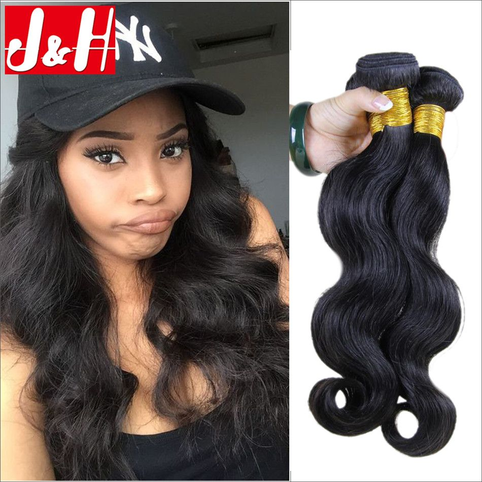 4pcslot Peruvian Virgin Hair Extensions Body Wave Top Unprocessed