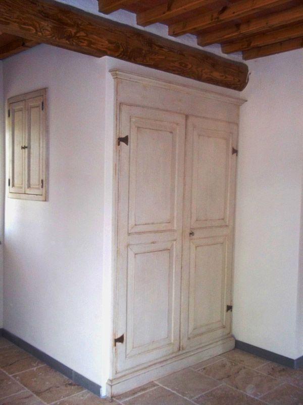 Ante Antiche Per Armadi A Muro.Realizzazione E Recupero Mobili In Stile Provenzale Armadio A Muro Rimodellare La Soffitta House