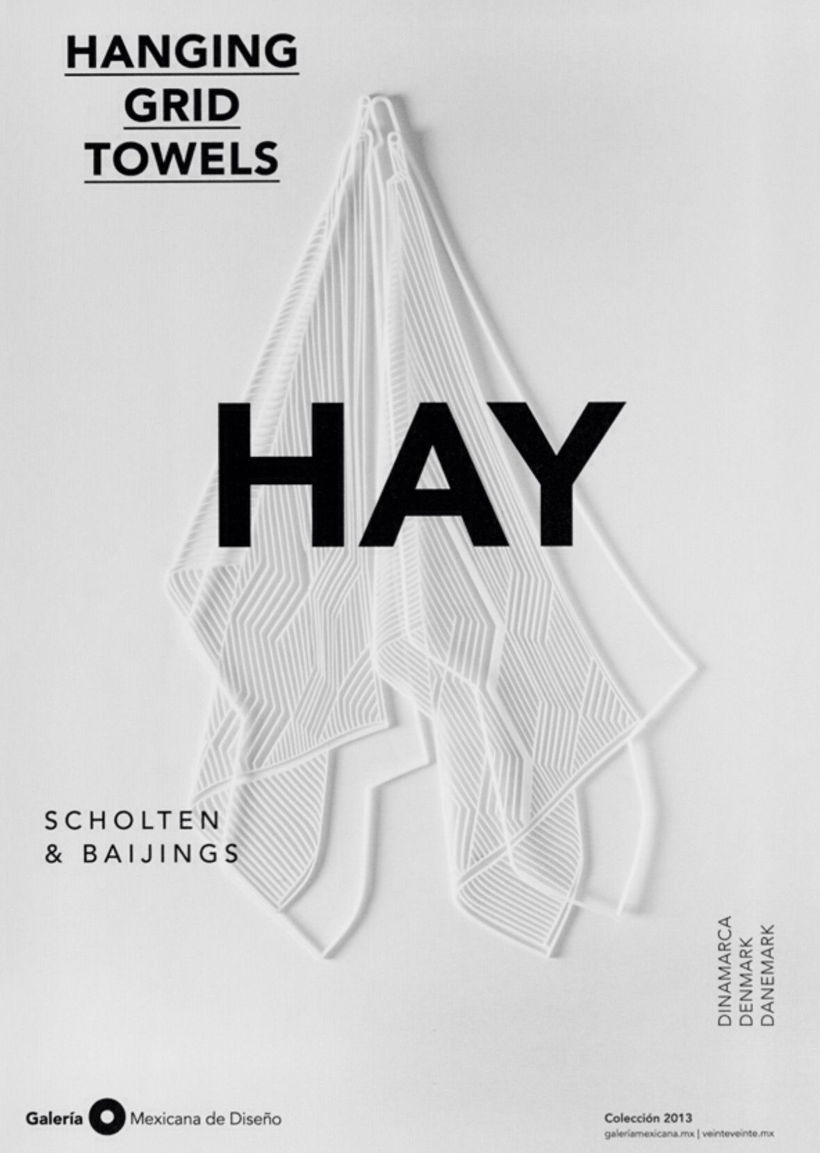 Dose Of Design Advertising Posters For Galeria Mexicana De