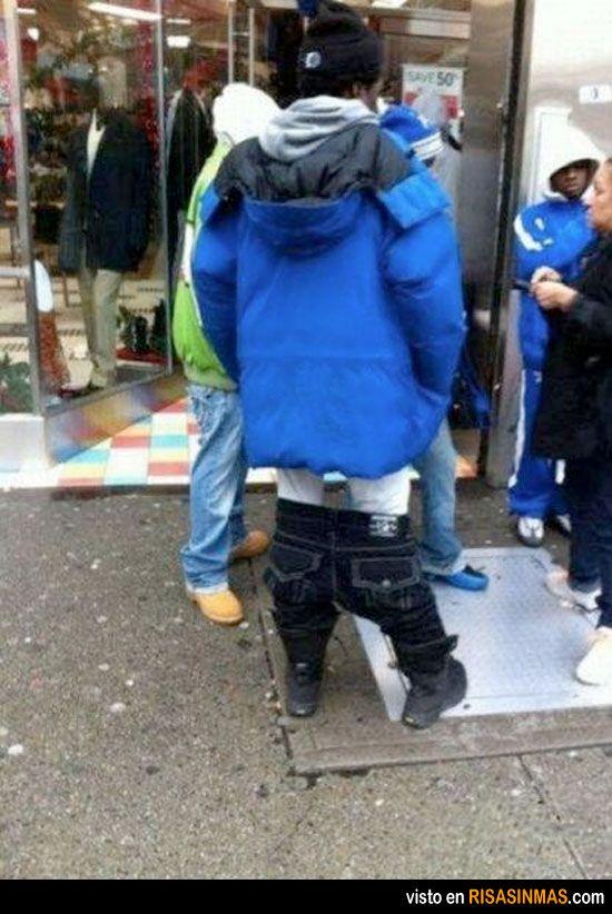 Pantalones caídos Extreme Edition | Funny fashion, Fashion ...