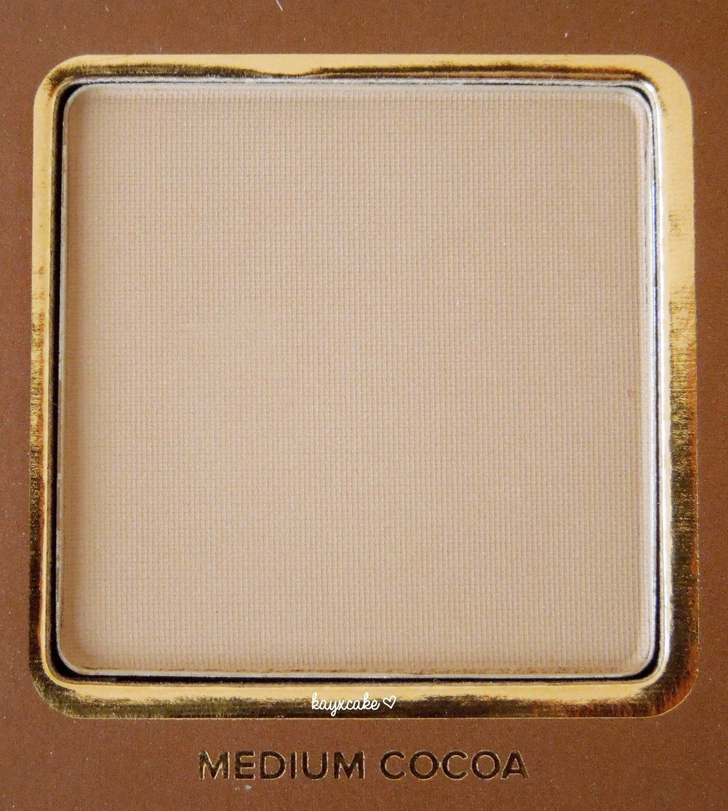 Too Faced Cocoa Contour Palette ♥ #kayxcake
