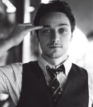 James McAvoy - Don't ask why I'm obsessed with him...Must be the Scottish accent or the blue eyes. Hell, it doesn't matter...he is non-traditionally attractive to me.