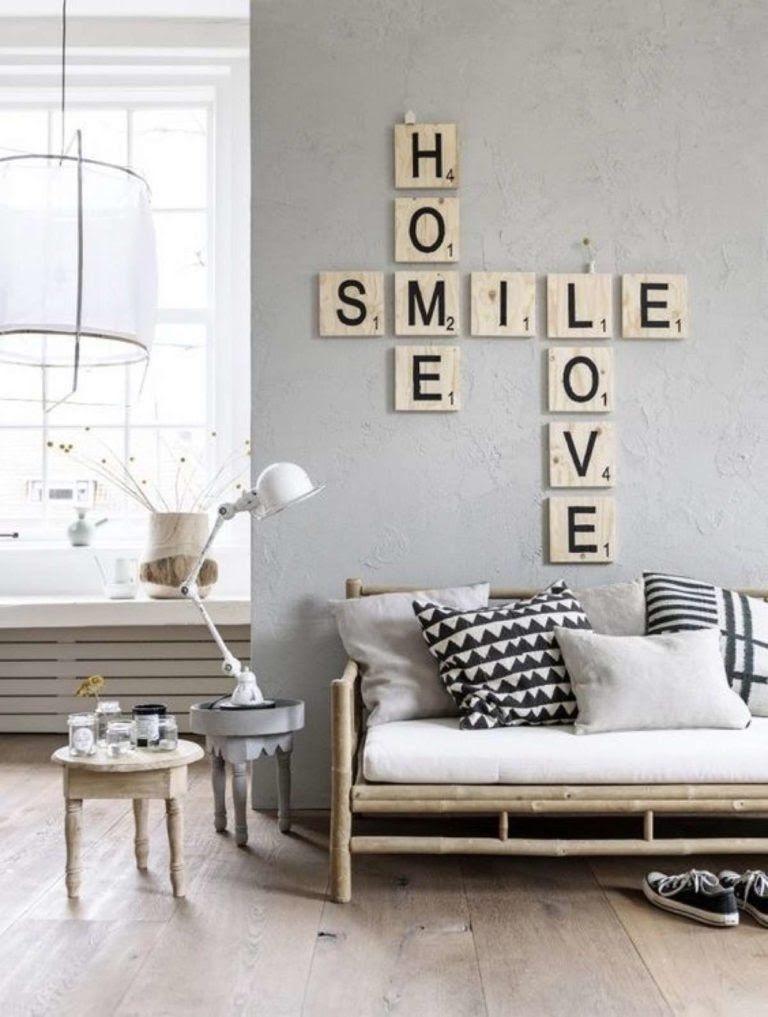 decorar paredes sin cuadros Decoracin Pinterest Decorar