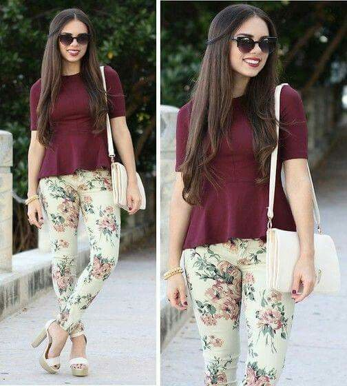Pantalones Floreados Floral Pants Fashion Outfits Verano
