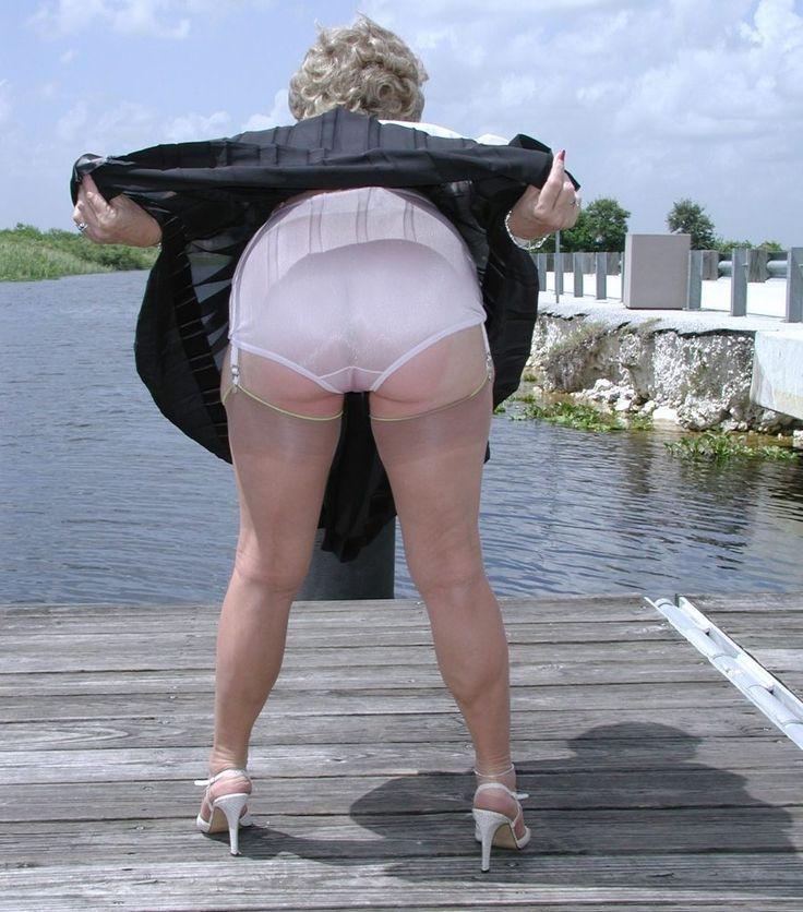 Granny Pattie Page Underwear Model Uploaded To Pinterest