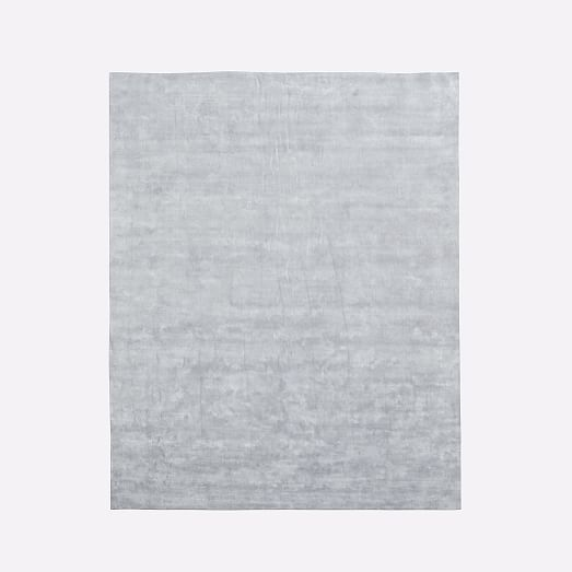 Lucent Rug Frost Gray Westelm Solid Color Rug Remodel Bedroom Rugs