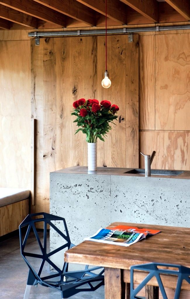 Plywood for interior design - The pleasantly warm wood look at home ...