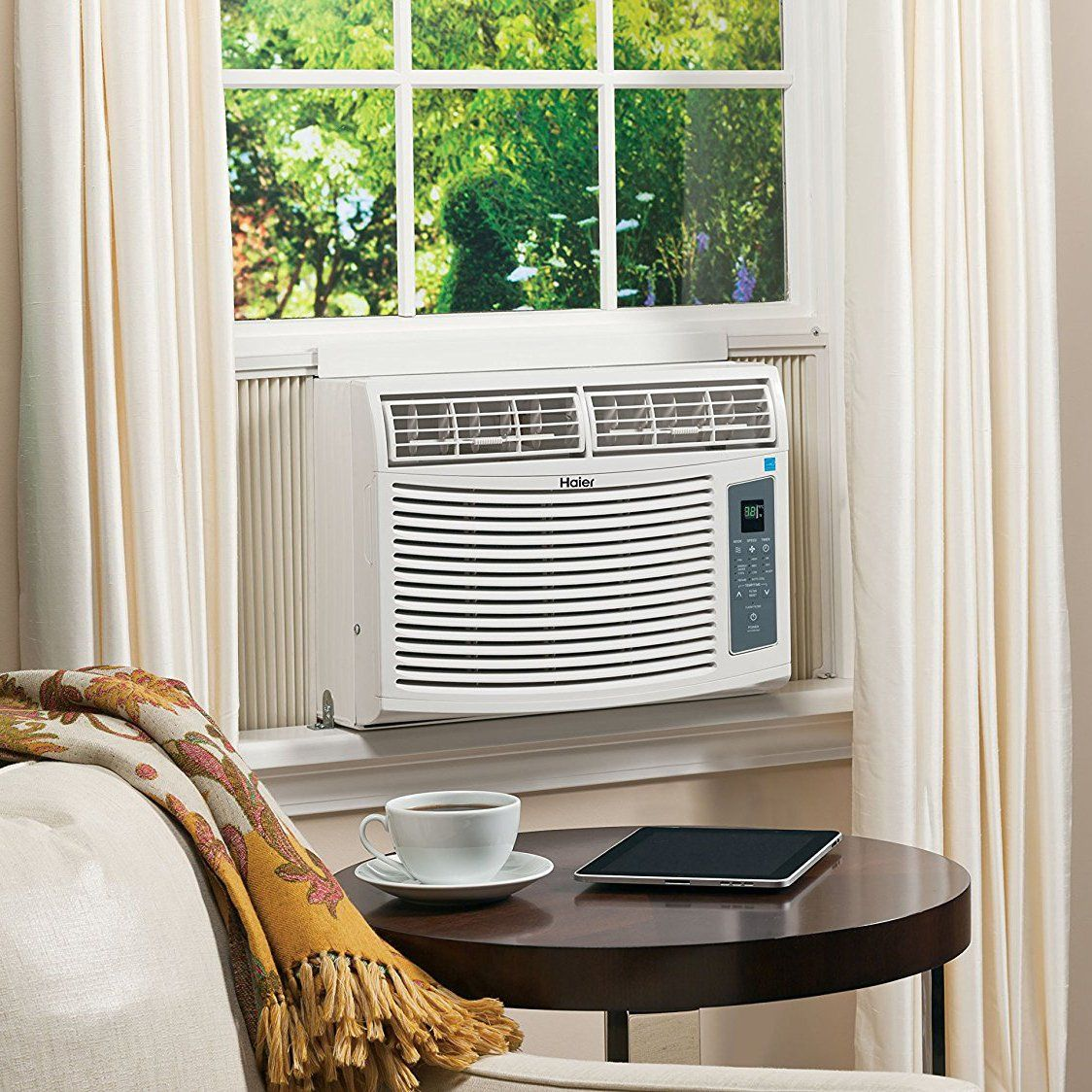 Haier ESA410R 10000 BTU Room Air Conditioner >>> Click on