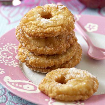 Beignets aux pommes (Mardi-Gras)