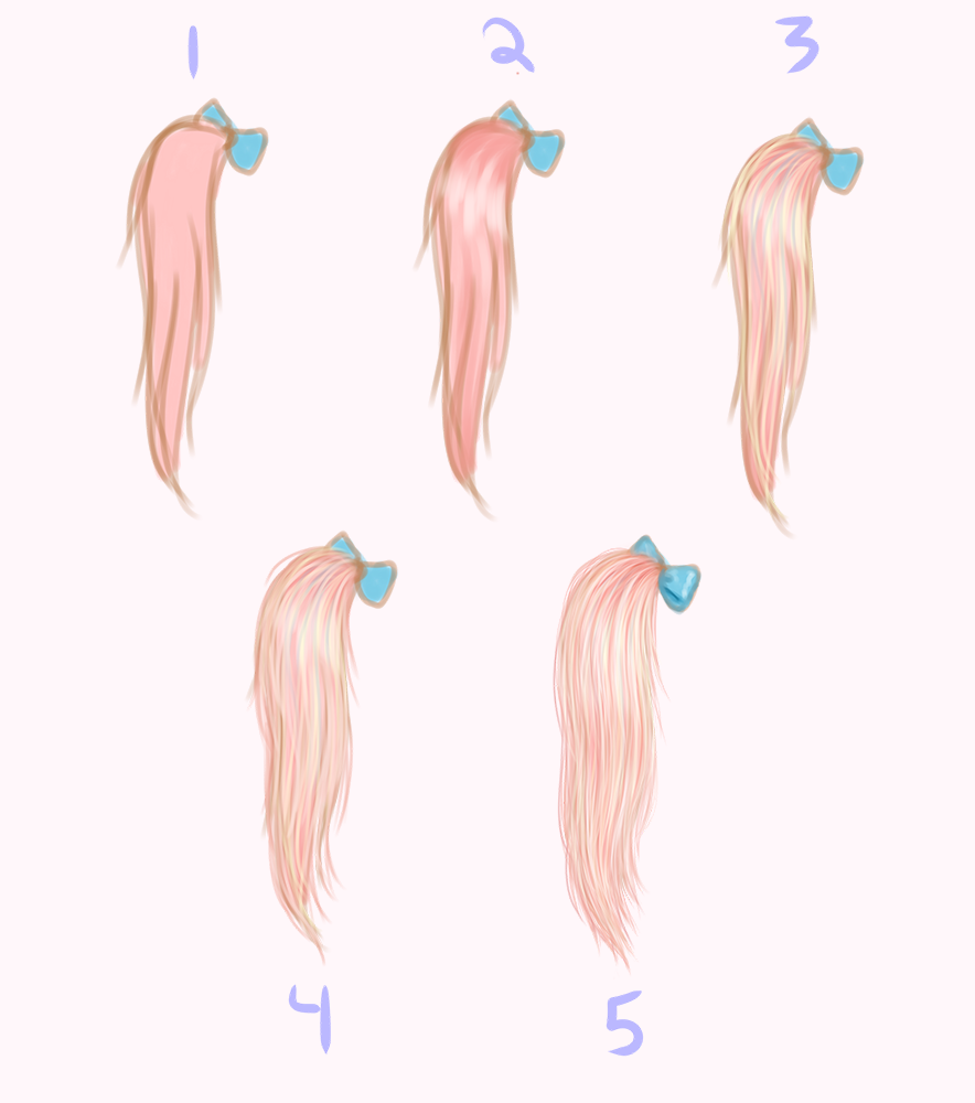 saccstry u2014 can you show us how you draw and color the hair
