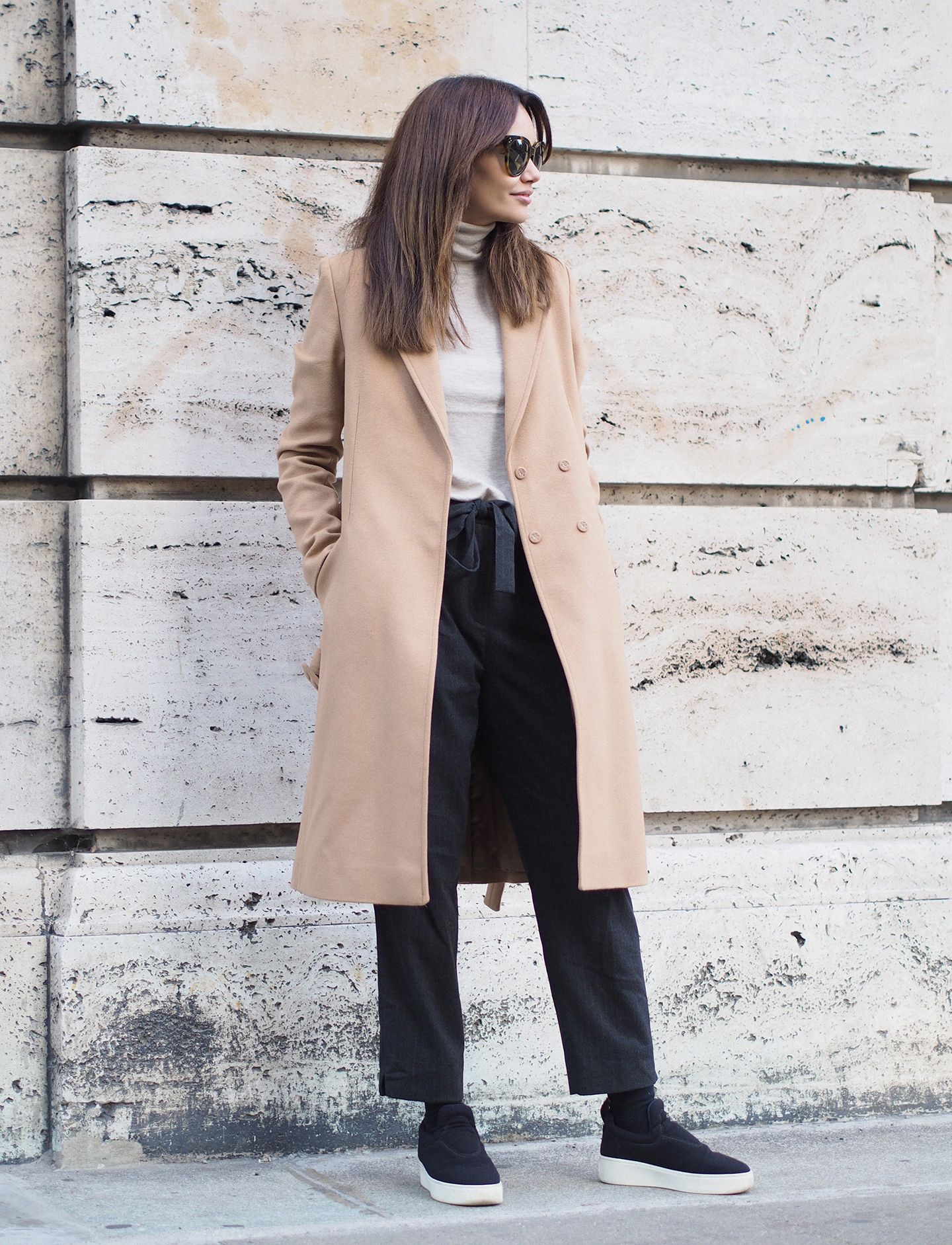 Camel autumn days #style #outfit #designersremix #camel #coat #celine #céline #byfunda #fundachristophersen
