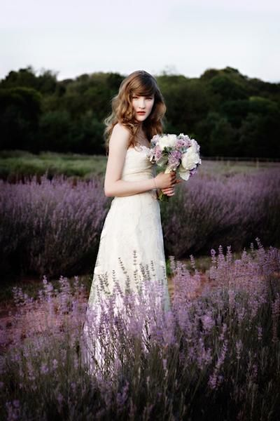 There is a lavender farm near Mt Forest, I wonder if they host weddings