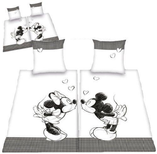 micky maus minnie maus bettw sche partner bettw sche. Black Bedroom Furniture Sets. Home Design Ideas