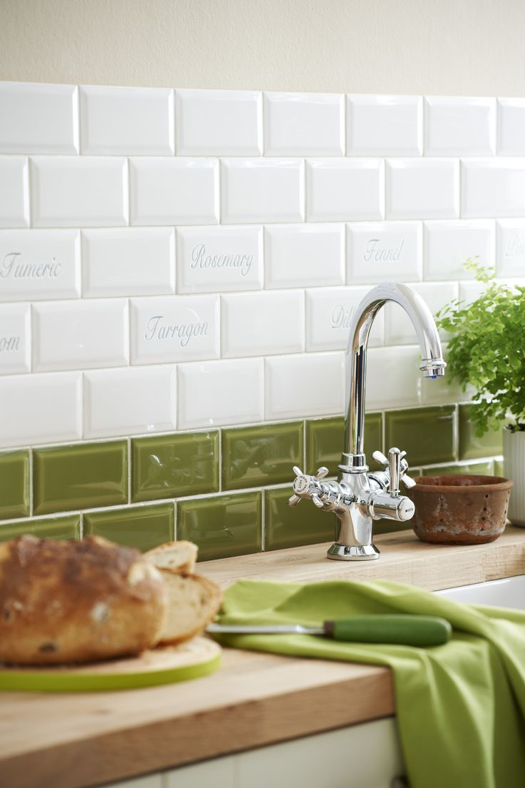 backsplash, The Best Green Kitchen Tile Ideas Wall Tiles Sage ...