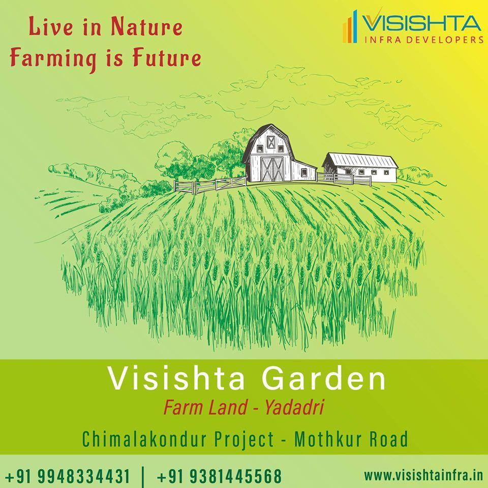 Buy farm land from Visishta Garden near Mothkur,Bhongir