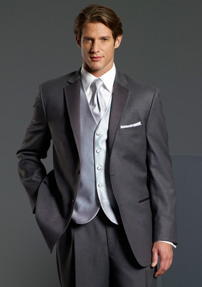 grey tuxedo wedding - Google Search | Suitsverse | Pinterest ...