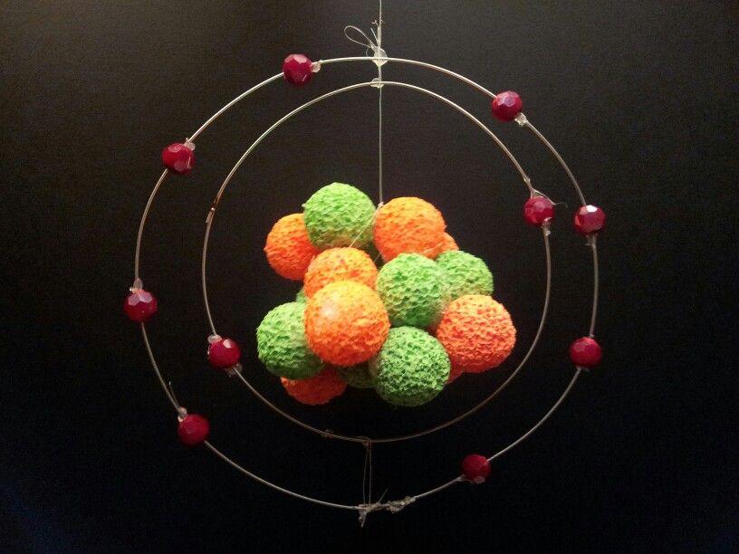 Andrew's model of a neon atom