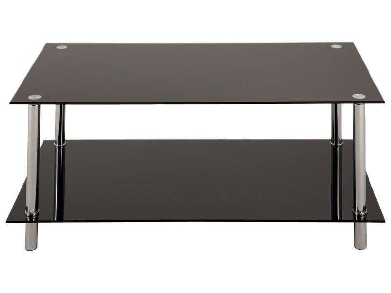 table basse rectangulaire en verre   décoration française, table