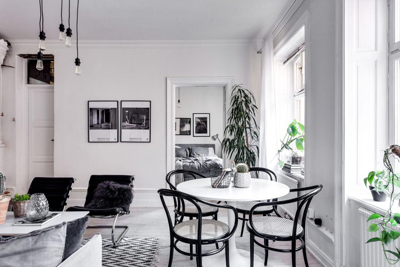 Dit scandinavisch appartement is anders maar wel super stoer