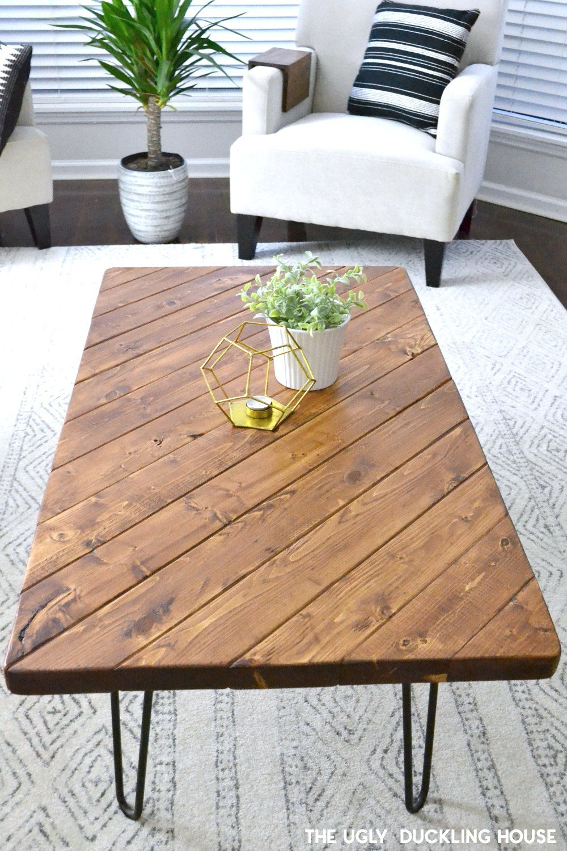 My 15 Minute Diy Hairpin Leg Coffee Table Diy Coffee Table Diy Coffee Table Plans Coffee Table Inspiration