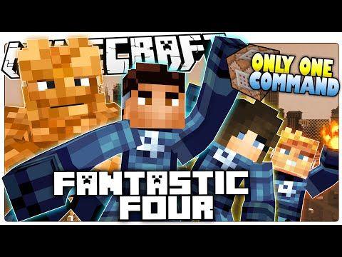 minecraft superhero fantastic four
