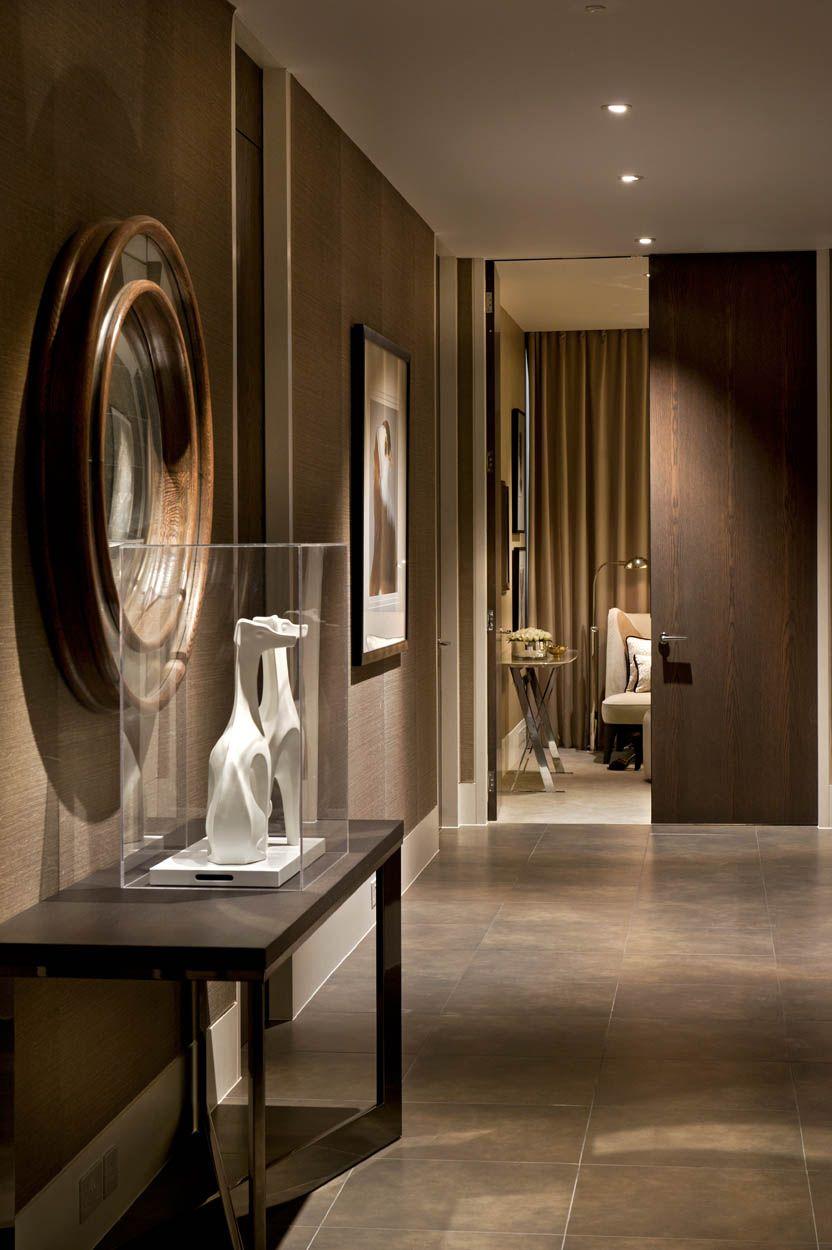 Art deco hallway lights  Art deco glamour with a tonal palette opulent velvets and silks