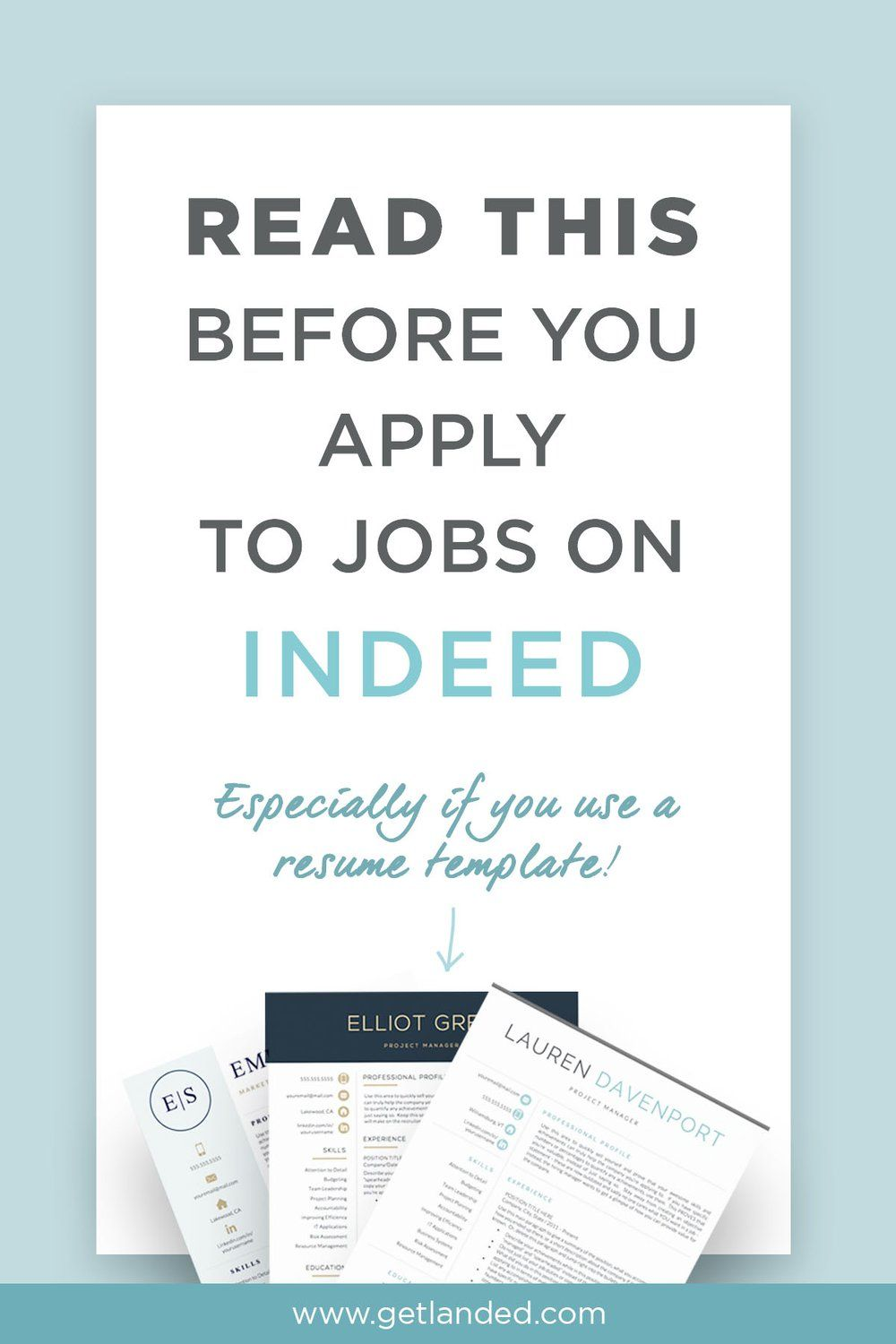What you need to know about applying to jobs on Indeed  | some good