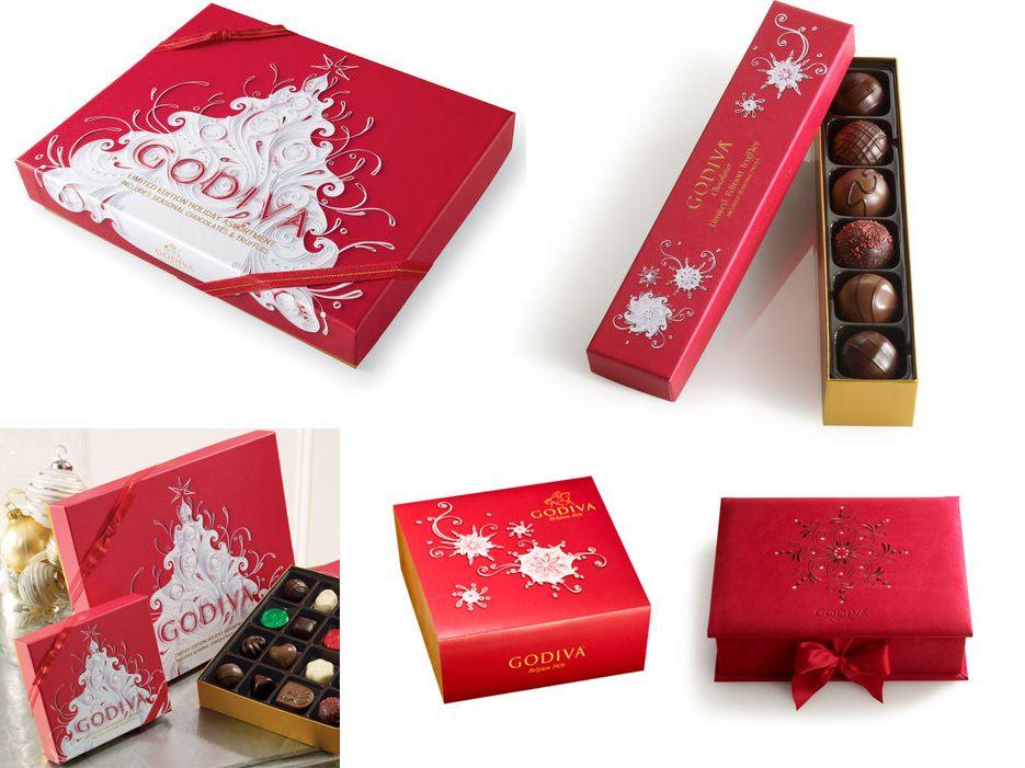 Картинки по запросу godiva chocolates christmas | Sweet_packaging ...