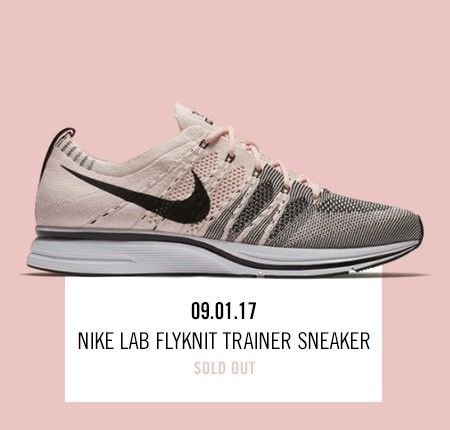 32f9a4141b4d Nordstrom x Nike  new and hot Nike Lab Flyknit Trainer Sneaker.
