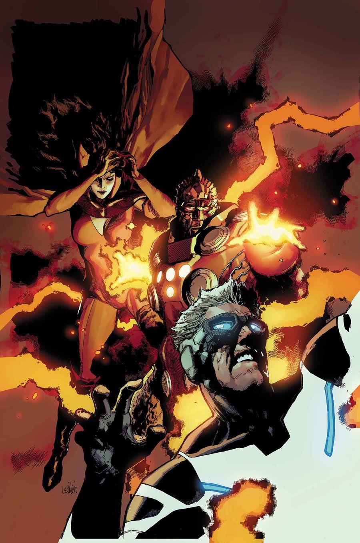 Uncanny X-Men •Leinil Francis Yu