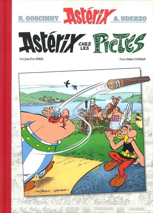 bd asterix chez les pictes