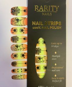 Spider Candy | Halloween nails, Nails, Orange crush