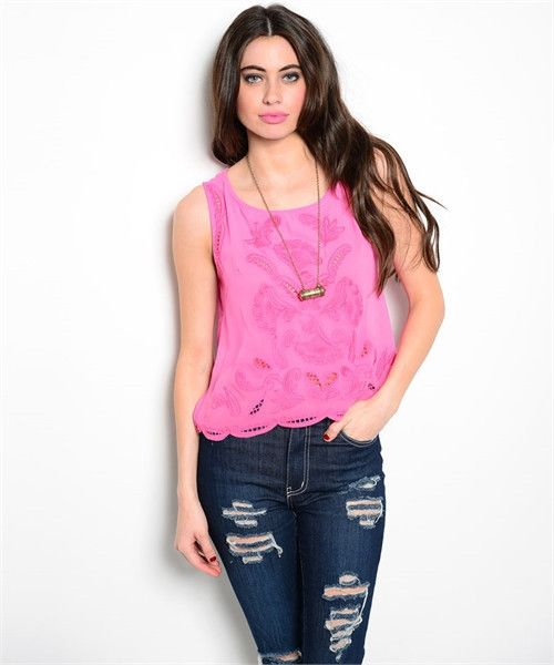 Pretty in Pink Crop top