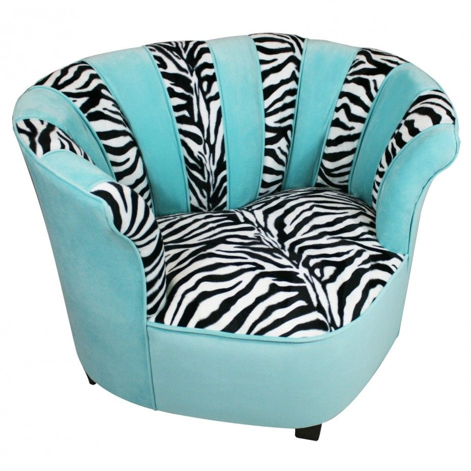 Girl Bedroom Designs Zebra saucer chair turquois | zebra print chair | {turquoise